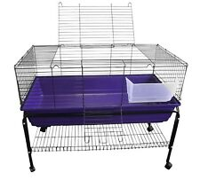 Heritage Large Rabbit Cage & Stand Package 100cm Indoor Guinea Pig Rodent Hutch