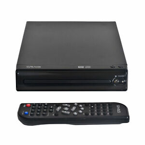Craig CVD512a Compact DVD Player with Remote in Black