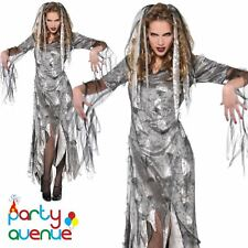 Womens Halloween Zombie Bride Ladies Fancy Dress Costume Outfit  Plus Size 18-20