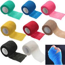 Rouleau Bande Bandage Auto-adhésif Doigt Muscle Soin Elastique Pansement Médical