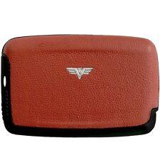 TRU VIRTU Leather Aluminium Credit card case Credit card case Business card case