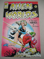 """""""ALIEN WORLDS"""" #2 5/83 NMT! DAVE STEVEN`S COVER & 15 PAGE `AURORA` STORY!"""