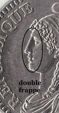 1 Franc 1992 Commémorative fautée ( Tréflé )