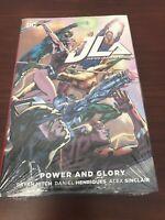 1/2 OFF Graphic Novels :: JLA Power And Glory (HC) :: New/Sealed :: Bryan Hitch