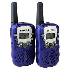 2xKids Retevis T-388 Walkie Talkie Uhf 462.5625-467.7250Mhz 22Ch 2-Way Radio Us