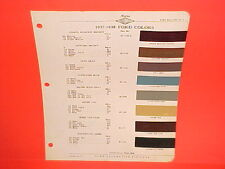 1937 1938 FORD CAR DELUXE CONVERTIBLE ROADSTER COUPE SEDAN WAGON PAINT CHIPS