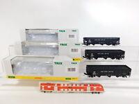 CI929-0,5# 3x Trix H0 US-Hopper Car ohne Radsätze NP NEM Kadee: 24902-16 etc OVP