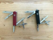 Victorinox Executive Swiss Army Knife - Red and Black - Great EDC Tool - Used