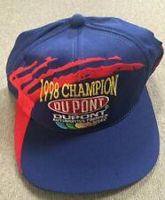 1998 Winston Cup Champion Jeff Gordon 24 DuPont Racing Snapback Hat