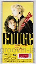 "Sealed Promo! ROUGE-ex.ARABESQUE Koi Wa No Time /Festa JAPAN 3"" CD 10FD-5035"