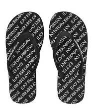 Emporio Armani EA7 Black & White Flip Flop All Sizes