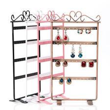 US Earrings Necklace Jewelry Stand Holder Rack Tower Tree Metal Display Shelf