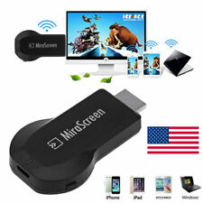 Mirascreen 1080p WiFi HDMI Display TV Dongle Receiver Airplay For Samsung Note 8