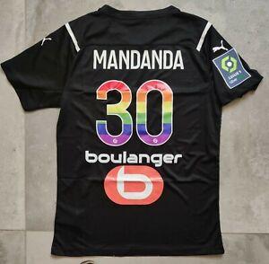 Maillot Om Marseille Mandanda flocage spécial contre l'homophobie  2020-2021