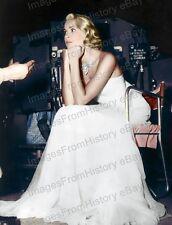 8x10 Print Grace Kelly Beautiful Colorized Set Candid #GK48
