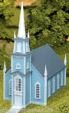 Atlas # 708 19th Century Church - Kit HO MIB