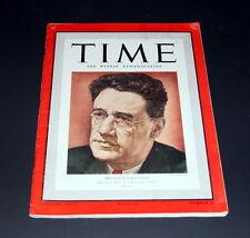 TIME WEEKLY NEWS MAGAZINE NOVEMBER 20 TH 1939 BROADWAY'S GEORGE KAUFMAN