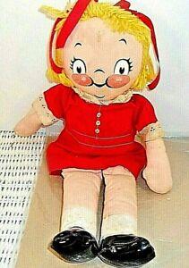Vintage Campbell Soup Kids Vintage Girl Cloth Doll