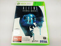 Mint Disc Xbox 360 Aliens Colonial Marines Free Postage