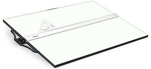 A3 A2 Drawing Board With T Square Tilted Stand Architect College WOODEN!