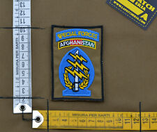 "Ricamata / Embroidered Patch US Army SF ""Afghanistan"" with VELCRO® brand hook"