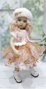 """Outfit  for Dianna Effner doll Little Darling 13 """"4pcs."""