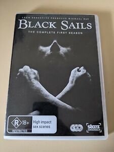 Black Sails: The Complete First Season (1) - Genuine Region 4 DVD