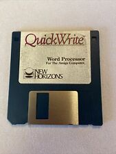 Vintage Amiga 3.5 Hard Disk Quick Write