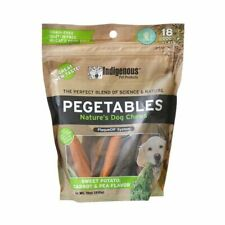 New listing Indigenous Pet Products 27 Indigenous Pegetables Nature's Dog Chew