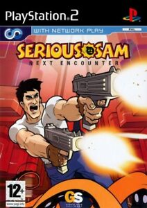 PS2  Sony Playstation 2 game Serious Sam game Next Encounter boxed