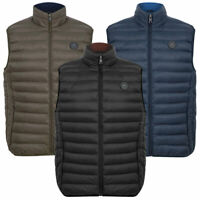 Tokyo Laundry Padded Gilet Mens Quilted Bodywarmer Puffer Zip Up Pockets Warm