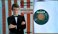 CLAUDE FRANCOIS - MAIS COMBIEN DE TEMPS + 3 - PHILIPS LBL - FRENCH EP -
