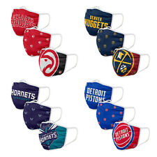 NBA 3 Pack Officially Licensed Face Coverings Various Teams