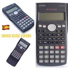 Calculadora CASIO Escolar Científica fx-82MS 2 Líneas 240 Funciones Ergonomica