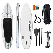 "Premium 10'6"" Inflatable StandUp Paddle Board Surfboard 6"" Thick w/Accessories"