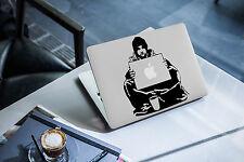 Banksy Decal for Macbook Pro Sticker Vinyl skin air funny 13 15 begger homeless