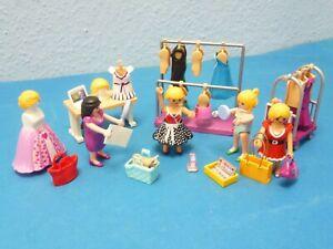 Modeboutique Figuren Fashion Girls Kleider Shoppen zu 5486 Playmobil 059