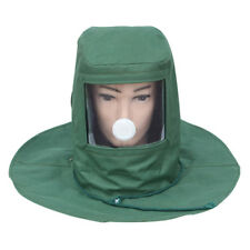 Industrial Sand Blasting Blaster Sandblaster Mask Hood Anti -Wind Anti-Dust New·