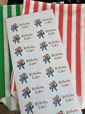 Mario & Luigi Festa di compleanno per torte borse e adesivi (10)
