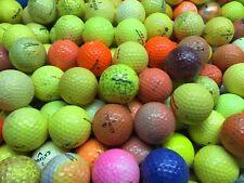 100 Hit-Away  Shag Practice Range Colored Yellow Orange Golf Balls Free Shipping