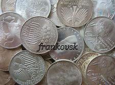 Bundesrepublik Deutschland Lot 100 x 5 DM Gedenkmünzen,unsortiert