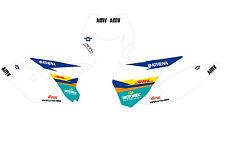 KTM GRAFICHE STICKERS TABELLE DHL  EXC 2014 2015 SX 13 14 VARI ANNI