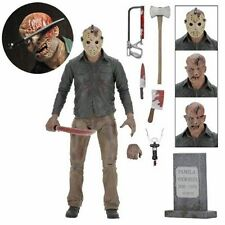 """THE FINAL CHAPTER ULTIMATE JASON 7"""" ACTION FIGURE NECA FRIDAY THE 13TH PART 4"""