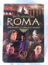 BBC- La Antigua Roma-Surgimiento Y caida Del Imperio Serie  3 DVD'S,NEW