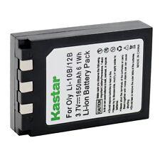 1x Kastar Battery for Olympus LI-10B 12B C-50 C-60 C-70 C-470 Zoom