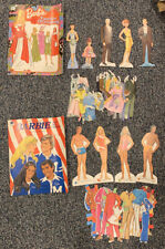 Vintage Barbie Paper Dolls Huge Lot Others Excellent Condition 1970's!