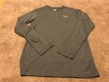Nwt Boys Puma Long Sleeve Shirt-Size Xl