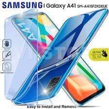CUSTODIA per SAMSUNG Galaxy A41 Cover TPU + Pellicola VETRO Temperato Protezione
