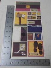 PEBBLES INC. MISSIONARY GIRL SAMPLER CALLED TO SERVE STICKERS SCRAPBOOKING A3113