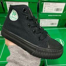 Pf Flyers Center Hi Ki2001Sl Black Mono Sneaker Kids Infant Toddlers Shoes Size